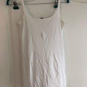 White tank top from Jcrew
